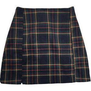 J. Galt Brandy Melville Cara Plaid Mini Skirt